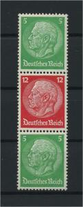 DEUTSCHES REICH 1933 ZD Nr S107 postfrisch (117674)