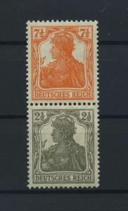 DEUTSCHES REICH 1917 ZD Nr S13b postfrisch (117679)
