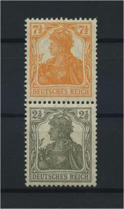 DEUTSCHES REICH 1917 ZD Nr S13a postfrisch (117680)