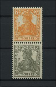 DEUTSCHES REICH 1917 ZD Nr S13a postfrisch (117681)