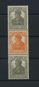 DEUTSCHES REICH 1917 ZD Nr S12b postfrisch (117682)