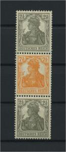 DEUTSCHES REICH 1917 ZD Nr S12a postfrisch (117683)