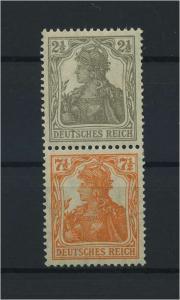 DEUTSCHES REICH 1917 ZD Nr S11b postfrisch (117685)