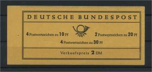 BUND 1967 MH12au postfrisch (117688)