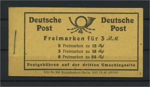 KONTROLLRAT 1946 MH50 RLV X postfrisch (117690)