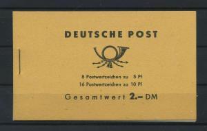 DDR 1962 MH 4a 2.2 postfrisch (117691)