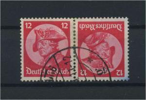 DEUTSCHES REICH 1933 ZD Nr K18 gestempelt (117692)