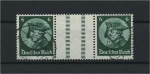 DEUTSCHES REICH 1933 ZD Nr WZ9 gestempelt (117693)