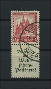 DEUTSCHES REICH 1931 ZD Nr S98 gestempelt (117696)