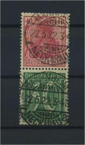 DEUTSCHES REICH 1921 ZD Nr S29 gestempelt (117701)