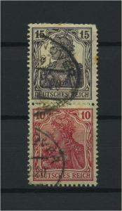 DEUTSCHES REICH 1919 ZD Nr S9 gestempelt (117702)