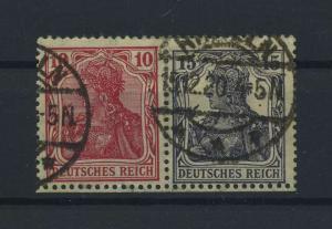 DEUTSCHES REICH 1919 ZD Nr W12 gestempelt (117703)