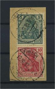 DEUTSCHES REICH 1917 ZD Nr S4 gestempelt (117704)