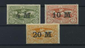 OBERSCHLESIEN 1922 Nr 41-43 postfrisch (117708)