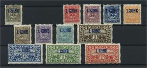 SCHLESWIG 1920 Nr 15-28 postfrisch (117712)