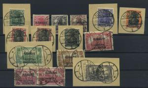 ALLENSTEIN 1920 Nr 1-14 gestempelt (117724)