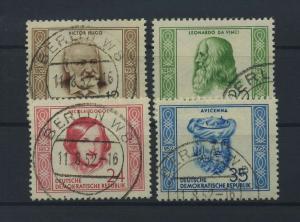 DDR 1952 Nr 311-314 gestempelt (117792)