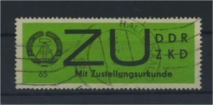 DDR ZKD 1965 Nr E2 gestempelt (117793)