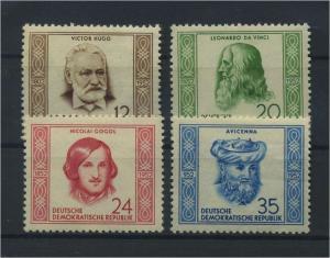 DDR 1952 Nr 311-314 postfrisch (117796)