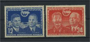 DDR 1951 Nr 296-297 postfrisch (117797)