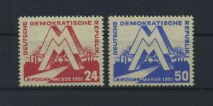 DDR 1951 Nr 282-283 postfrisch (117798)