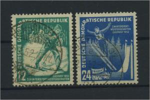 DDR 1951 Nr 298-299 gestempelt (117800)