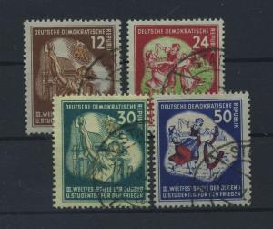 DDR 1951 Nr 289-292 gestempelt (117801)