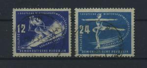 DDR 1950 Nr 246-247 gestempelt (117804)