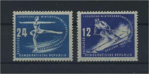 DDR 1950 Nr 246-247 postfrisch (117805)