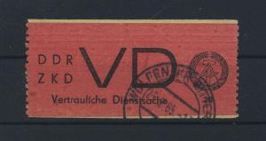 DDR ZKD 1965 Nr D1 gestempelt (117810)