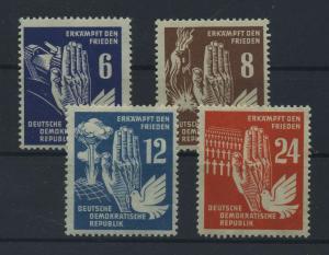 DDR 1950 Nr 276-279 postfrisch (117813)