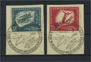 DDR 1951 Nr 280-281 gestempelt (117818)