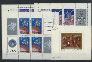 RUMAENIEN Lot Kleinb. aus 1969 gestempelt (117882)