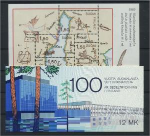 FINNLAND Lot aus 1981-1985 postfrisch (117899)