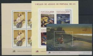 PORTUGAL Lot Blockausgaben postfrisch (117904)