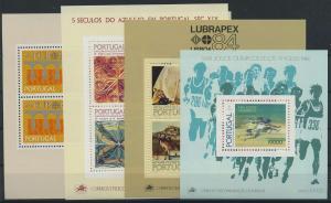 PORTUGAL Lot Blockausgaben postfrisch (117906)
