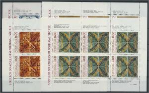 PORTUGAL Lot Kleinbogen postfrisch (117907)