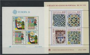 PORTUGAL Lot Blockausgaben postfrisch (117909)