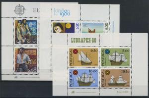 PORTUGAL Lot Blockausgaben postfrisch (117910)