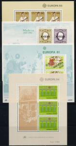 PORTUGAL Lot Blockausgaben postfrisch (117918)