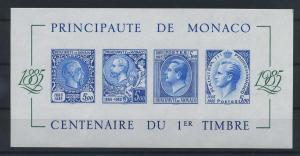 MONAKO 1985 Bl.31B postfrisch (117926)