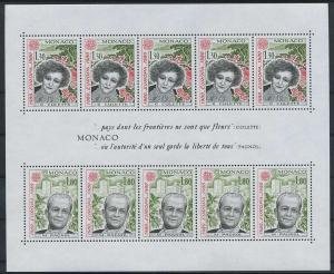 MONAKO 1980 Bl.16 postfrisch (117930)
