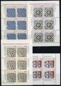PORTUGAL Lot Kleinbogen postfrisch (117933)
