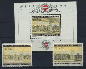 OESTERREICH 1979/1981 postfrisch (117938)