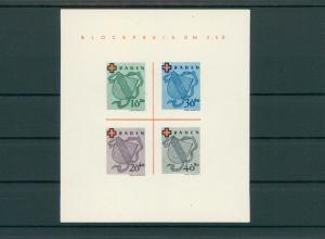 FRZ.ZONE BADEN 1949 Bl.2I postfrisch (203884)