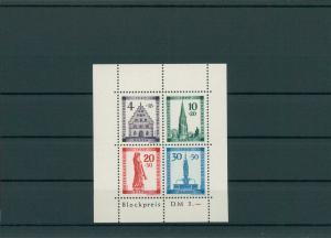FRZ.ZONE BADEN 1949 Block 1A postfrisch (203885)