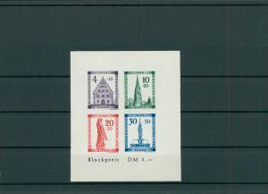 FRZ.ZONE BADEN 1949 Block 1B postfrisch (203886)