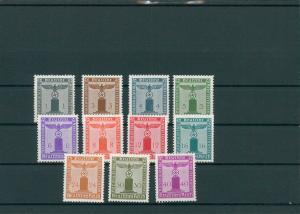 DEUTSCHES REICH 1942/44 Nr 155-165 postfrisch (203916)