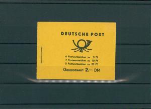 DDR 1955 MH1a 1.1 postfrisch (203956)