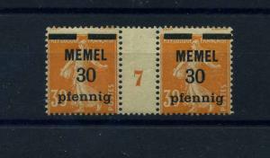 MEMEL 1920 Nr 21y ZW postfrisch (103477)